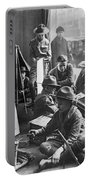 Scouts Camp In Window Portable Battery Charger