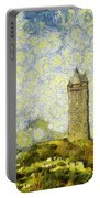 Starry Scrabo Tower Portable Battery Charger