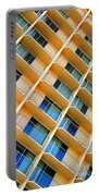 Scratchy Hotel Facade Portable Battery Charger