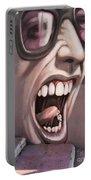 Screamer Portable Battery Charger by Gillian Singleton
