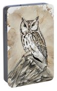 Screech Owl Portable Battery Charger