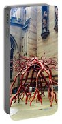 Sculpture At Trinity Church Portable Battery Charger