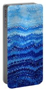 Sea And Sky Original Painting Portable Battery Charger