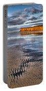Sea Coal Saltburn Sunset Portable Battery Charger