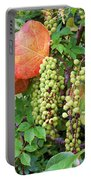 Sea Grapes And Poison Ivy Portable Battery Charger