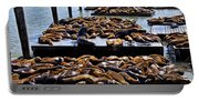 Sea Lions At Pier 39  Portable Battery Charger