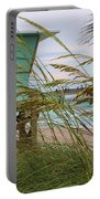 Sea Oats And The Tower Portable Battery Charger