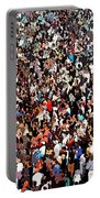 Sea Of People Portable Battery Charger by Glenn McCarthy Art and Photography