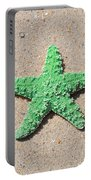Sea Star - Green Portable Battery Charger by Al Powell Photography USA