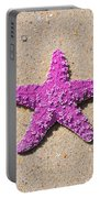Sea Star - Pink Portable Battery Charger