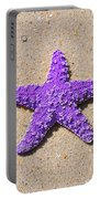 Sea Star - Purple Portable Battery Charger