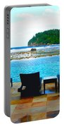 Sea Star Villa Portable Battery Charger by Carey Chen