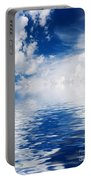 Sea Sun And Clouds Portable Battery Charger