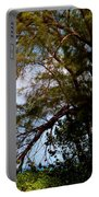 Sea Through Trees Portable Battery Charger