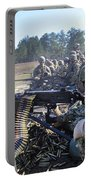 Seabees Fire The M2 .50-caliber Machine Portable Battery Charger