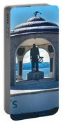 Seafarer's Memorial On Homer Spit-ak Portable Battery Charger