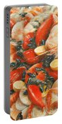 Seafood Extravaganza Portable Battery Charger