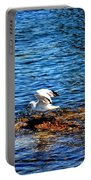 Seagull Wings Lifted Portable Battery Charger