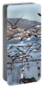 Seagulls Seagulls And More Seagulls Portable Battery Charger