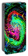 Seahorse Phone Case Art Colorful Dynamic Abstract Geometric Design By Carole Spandau 130  Cbs Art Portable Battery Charger