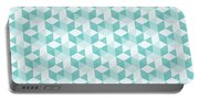 Seamless Pixel Pattern  Portable Battery Charger