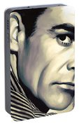 Sean Connery Artwork Portable Battery Charger