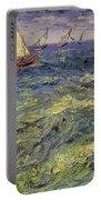 Seascape At Saintes-maries 1888 Portable Battery Charger