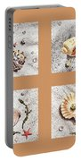 Seashell Collection II Portable Battery Charger