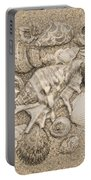 Seashells Collection Drawing Portable Battery Charger