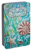 Seashells II Portable Battery Charger
