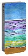 Seashore Blue Sky Portable Battery Charger