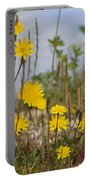 Seaside Flora Portable Battery Charger