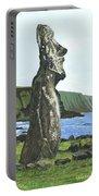Seaside Moai Portable Battery Charger