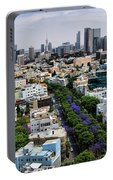 season change at Rothschild boulevard  Portable Battery Charger
