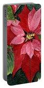 Seasonal Scarlet Portable Battery Charger