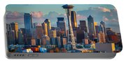 Seattle Afternoon Portable Battery Charger