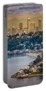 Seattle From The Air Portable Battery Charger