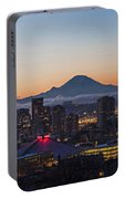Seattle Morning Glow Portable Battery Charger