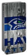 Seattle Seahawks Barn Door Portable Battery Charger