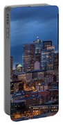 Seattle Skyline Evening Drama Portable Battery Charger