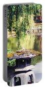 Seattle Tea Garden Reflections Portable Battery Charger