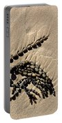 Seaweed On Beach Portable Battery Charger
