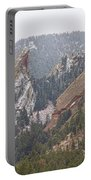 Second And Third Flatirons Boulder Colorado Portable Battery Charger