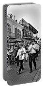 Second Line Parade Bw Portable Battery Charger