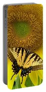 Secret Lives Of Sunflowers Portable Battery Charger