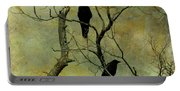 Secretive Crows Portable Battery Charger