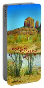 Sedona Arizona Portable Battery Charger by Jerome Stumphauzer