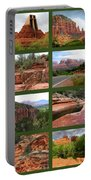 Sedona Spring Collage Portable Battery Charger