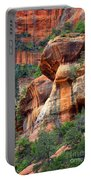 Sedona Stripes Portable Battery Charger by Carol Groenen
