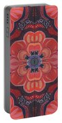 Seduction In Red 1 - The Joy Of Design X X V Arrangement Portable Battery Charger